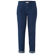 Buy White Stuff Sally Easy Jeans, Mid Denim Online at johnlewis.com