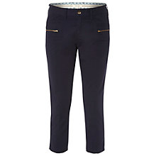Buy White Stuff Moonbay Crop Trousers, Organic Grey Online at johnlewis.com