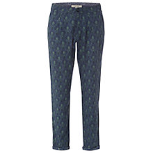 Buy White Stuff Freya Print Trousers, Blue Online at johnlewis.com