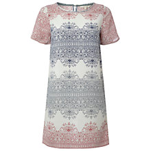 Buy White Stuff Wallflower Tunic Dress, Canvas White/Multi Online at johnlewis.com
