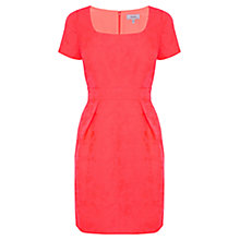 Buy Coast Jhene Dress, Coral Online at johnlewis.com