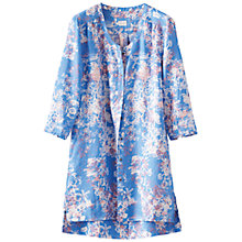 Buy Poetry Print Linen Shirt, Cornflower Online at johnlewis.com