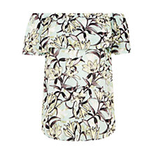 Buy Warehouse Floral Gypsy Top, Multi Online at johnlewis.com