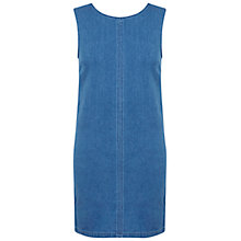 Buy Miss Selfridge Denim Shift Dress, Mid Wash Online at johnlewis.com