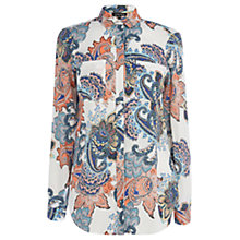 Buy Warehouse Paisley Print Shirt Online at johnlewis.com