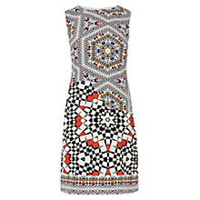 Buy Warehouse Tile Print Shift Dress, Multi Online at johnlewis.com