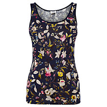 Buy Oasis Ana Maria Vest Top, Multi Blue Online at johnlewis.com