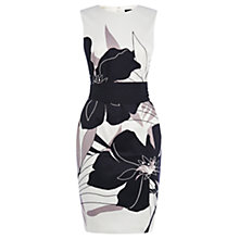 Buy Warehouse Large Floral Cotton Dress, Multi Online at johnlewis.com