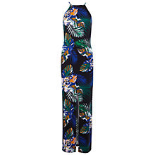 Buy Miss Selfridge Tropical Floral 90s Maxi Dress, Multi Online at johnlewis.com