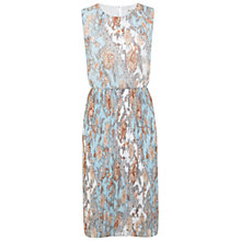 Buy Miss Selfridge Paisley Printed Midi Dress, Multi Online at johnlewis.com