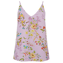 Buy Oasis V and A Anna Maria Camisole, Multi Lilac Online at johnlewis.com