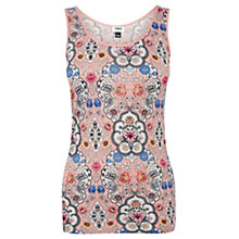 Buy Oasis China Print Vest Top, Multi Online at johnlewis.com