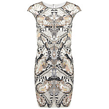 Buy Miss Selfridge Embellished Butterfly Bodycon Dress, Multi Online at johnlewis.com