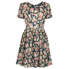 Buy Oasis Denim Rose Cotton Dress, Multi Online at johnlewis.com