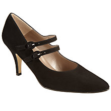 Buy John Lewis Alicia Mary Jane Courts, Black Suede Online at johnlewis.com