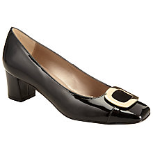 Buy John Lewis Alanna Block Mid Heeled Courts Online at johnlewis.com