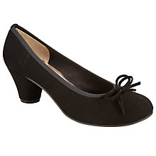 Buy John Lewis Arabella Courts, Black Suede Online at johnlewis.com