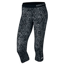 Buy Nike Pro Heights Vixen Capri Running Tights Online at johnlewis.com