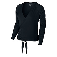 Buy Nike Sylk Ballet Training Wrap, Black Online at johnlewis.com