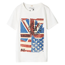 Buy Mango Kids Boys' Flag T-Shirt Online at johnlewis.com
