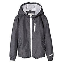 Buy Mango Kids Boys' Water Repellent Jacket, Charcoal Online at johnlewis.com