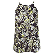 Buy Miss Selfridge Jungle High Neck Cami Top, Multi Online at johnlewis.com