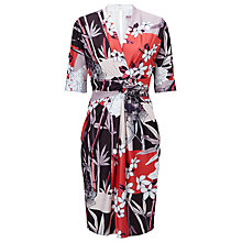 Buy Phase Eight Abrielle Twist Front Dress, Multi Online at johnlewis.com