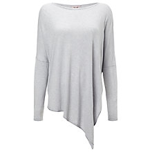 Buy Phase Eight Melinda Asymmetric Top, Silver Online at johnlewis.com
