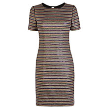 Buy Karen Millen Limited Edition Stripe Sequin Dress, Multi Online at johnlewis.com