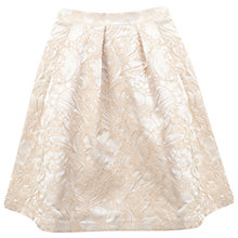 Buy Miss Selfridge Petite Jacquard Skirt, Powder Blush Online at johnlewis.com