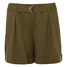 Buy Karen Millen Cargo Shorts, Khaki Online at johnlewis.com