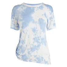 Buy Karen Millen Tie Dye T-Shirt, Blue Multi Online at johnlewis.com