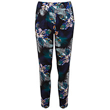Buy Miss Selfridge Tropical Joggers, Multi Online at johnlewis.com