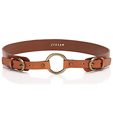 Buy Jigsaw Loop Double Buckle Belt Online at johnlewis.com