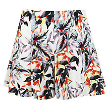Buy Miss Selfridge Palm Crepe Shorts, Multi Online at johnlewis.com