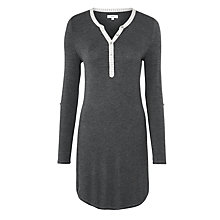Buy John Lewis Relaxed Long Sleeve Nightshirt Online at johnlewis.com
