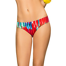 Buy Phax Elemental Stripe Print Bikini Pants, Multi Online at johnlewis.com