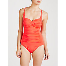 Buy Seafolly Goddess Swimsuit, Nectarine Online at johnlewis.com