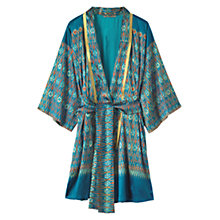 Buy Toast Silk Ikat Kimono Gown, Multi Online at johnlewis.com