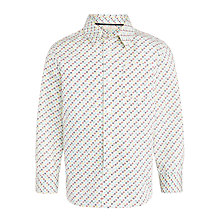Buy John Lewis Heirloom Collection Boys' Geo Print Shirt, Blue Online at johnlewis.com