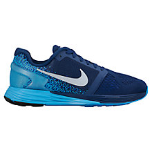 Buy Nike LunarGlide Trainers, Blue Online at johnlewis.com