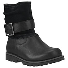 Buy Timberland Asphalt Trail Briarcliff Leather Boots, Black Online at johnlewis.com
