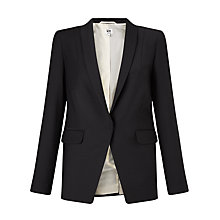 Buy Kin by John Lewis Shawl Collar Jacket, Black Online at johnlewis.com