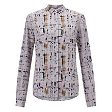 Buy Kin by John Lewis Rift Print Shirt, Multi Online at johnlewis.com
