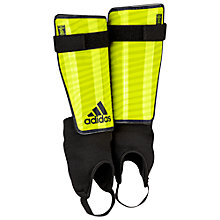 Buy Adidas X Replique Shin Guards, Yellow/Black Online at johnlewis.com