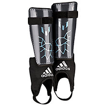 Buy Adidas Messi 10 Youth Shin Guards, Grey Online at johnlewis.com