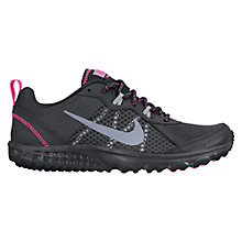 Buy Nike Wild Trail Women's Running Shoes, Anthracite Online at johnlewis.com