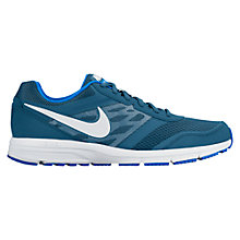 Buy Nike Air Relentless 4 Men's Running Shoes, Blue Online at johnlewis.com
