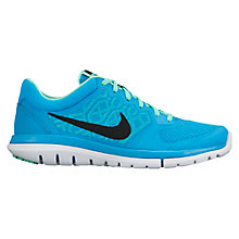 Buy Nike Flex Run 2015 Women's Running Shoes, Blue Online at johnlewis.com