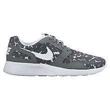Buy Nike Kaishi Print Women's Trainers, Grey Online at johnlewis.com